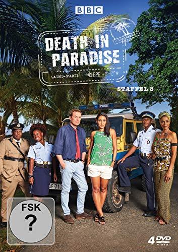 Preisvergleich Produktbild Death in Paradise - Staffel 8 [4 DVDs]