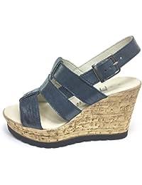 Zapatillas para mujer, con cordones, corte alto, con plataforma, varios diseños, varios tamaños, color multicolor, talla 37 1/3