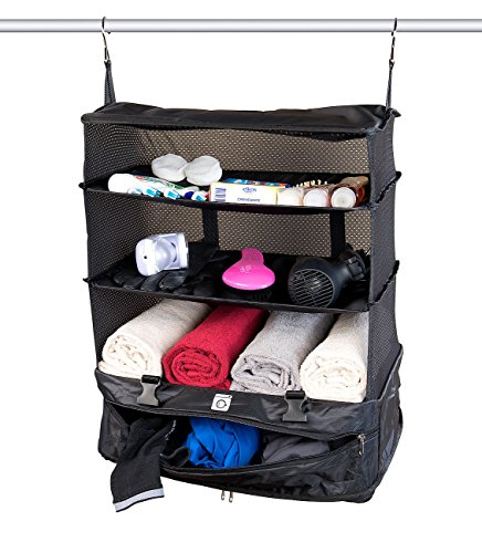 Preisvergleich Produktbild Xcase Kleidertaschen: XXL-Koffer-Organizer,  Packwürfel zum Aufhängen,  45 x 64 x 30 cm (Koffer-Organizer-Tasche)