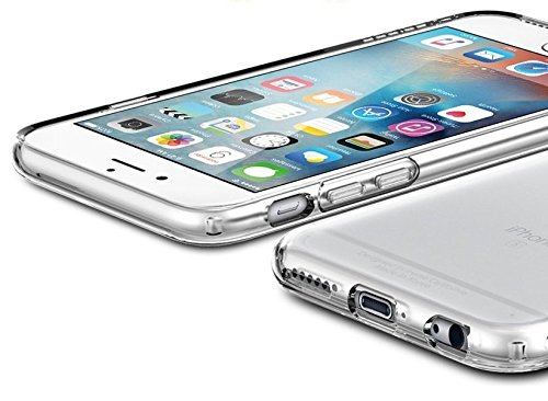 TheSmartGuard Hülle kompatibel für iPhone 6 Plus / 6S Plus Silikon Case Clear TPU Schutzhülle (5,5 Zoll) geeigent für iPhone 6+ und iPhone 6s+ durchsichtig transparent