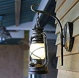 WLL Laterne, Chinesische Mauer, Lampe, Balkon Flur retro Kurs der Petroleumlampe alte Klubhaus treppen Armaturenwand Licht lesen (Color #1)