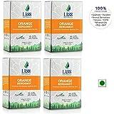 Lass Naturals Orange Bergamot Handmade Premium Bathing Bar 125 gm (Pack of 4)- Skin Care