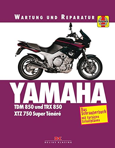 Yamaha TDM 850/TRX 850: Wartung und Reparatur. Print on Demand