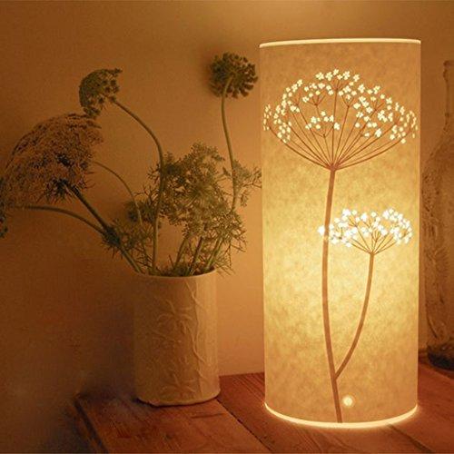 Ikea Fashion Boutique Personalit¨¤ Creativa Mano-Intagliata Hollow Lampada Da Tavolo Da Letto Comodino Luce Notte Pergamena