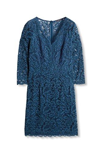 Esprit 096eo1e012, Robe Femme Bleu (Petrol Blue 450)