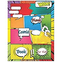 Blank Comic Book for Kids: Make Your Own Comic Book for Kids, Comic Sketchbook, Kids Comic Books