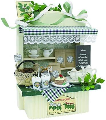 Billy handmade Dollhouse Dollhouse Dollhouse Kit Mini Kit counter cafe 8492 (japan import) B005436F66 641fa8