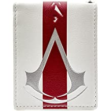 Cartera de Ubisoft Assassins Creed Raya roja Blanco