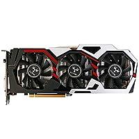 KKmoon Colorful NVIDIA GeForce GTX iGame 1080 GPU Video Gaming Grafikkarte, 8GB 256 bit GDDR5X Speicher PCI-E X16 3.0 VR DVI + HDMI + 3 x DP Anschluss mit 3 Lüfter