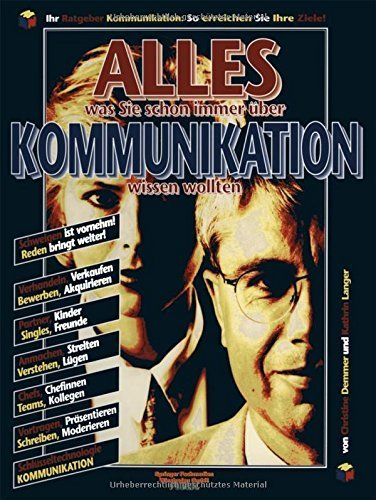 ALLES was Sie schon immer ????ber Kommunikation wissen wollten (Gabler Public) (German Edition) by Kathrin Langer (2013-10-09)