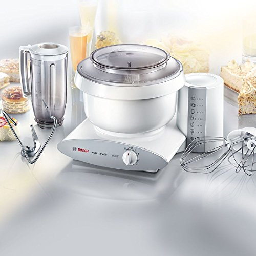 Bosch MUM6N11 food processor – food processors (White, Aluminium, Stainless steel, Plastic)