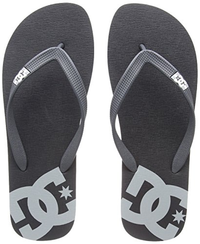 DC Shoes Spray, Tongs Homme, Gris, Grau