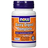 Dairy Digest Complete, 90 Vcaps - Now Foods - UK Seller - 51VCbcrQH3L. SS166