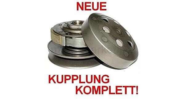 Unbranded WANDLER Kupplung S Glocke KIT Set KOMPLETT f/ür Peugeot SPEEDFIGHT 2 II Squab 50