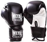METAL BOXE MB200 Gants de boxe Noir 12 oz