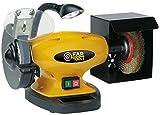 Fartools 110255 - Mola da banco, 450 W, diametro 1 150 mm, diametro 2 150 mm