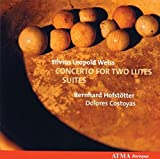Weiss: Concerto for two lutes; Suites