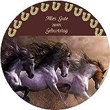 CS-Dekor Tortenaufleger Pferde 031