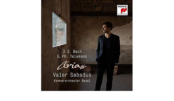 Bildergebnis für CD: VALER SABADUS: BACH/TELEMANN ARIAS – Kammerorchester Basel, Julia Schröder