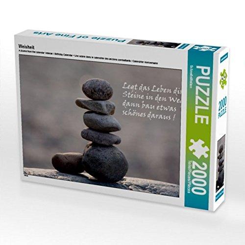 Weisheit 2000 Teile Puzzle quer