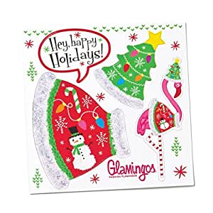 'Silvestri glamingo Flamingo Ugly Pullover Kostüm Magnet Tabelle
