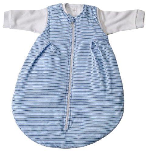 Easy Baby 457/05 2 en 1 Sac de couchage 62/68 cm, rayures bleu