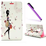 Samsung Galaxy A3 Coque 2015,Galaxy A3 Coque Antichoc,Galaxy A3 Coque Cuir,Galaxy A3 Coque Flip Etui Housse Portefeuille,EMAXELERS Galaxy A3 2015 Cuir Coque Étui Housse Leather Case Wallet Flip Protective Cover,Galaxy A3 Coque Bling Cristall Diamant Papillon Fille Design PU Cuir Portefeuille Housse Swag Case Cover Coquille Couverture pour Samsung Galaxy A3 2015,Shopping Girl