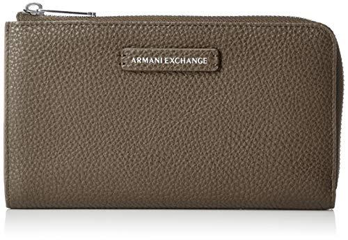 Armani Exchange - Round Zip Wallet