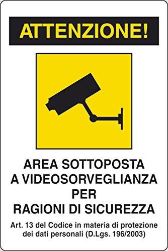 Cartello 'Videosorveglianza'