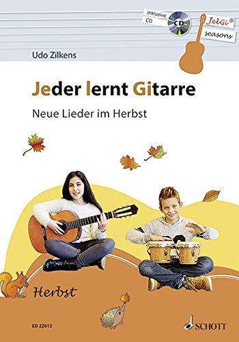 - Neue Lieder im Herbst: JelGi-Liederbuch für allgemein bildende Schulen. Gitarre. Lehrbuch mit CD. (Halloween-musik-spiele)