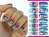 Kompletter Wrap Nail Art Wasser Transfer Weihnachten Aufkleber Sticker K5665 Nail Sticker Tattoo - FashionLife