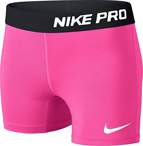 Nike Beinkleid Pro Shorts Girls, Pink, L - Kinder Mädchen Short Pj