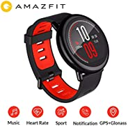 Xiaomi Amazfit Pace Multisport Smartwatch by Huami with All-Day Heart Rate and Activity Tracking, GPS, 5-Day B
