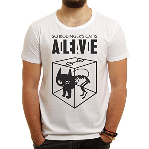 Sheldon Schroedingers Cat Is Alive Edition Medium Uomini T-Shirt