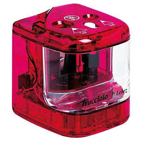 Lebez 4306 temperamatite a batteria 2 fori, colori assortiti