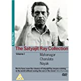The Satyajit Ray Collection - Vol. 1 3-DVD Set ( The Big City / The Lonely Wife / The Hero ) ( Mahanagar / Charulata / Nayak ) [ NON-USA FORMAT, PAL, Reg.2 Import - United Kingdom ] by Anil Chatterjee