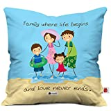 Best Family Gifts - Indigifts Micro Satin, Fibre Life Begins Love Never Review