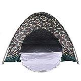 Jerome10Dan Campingzelt, langlebig, wasserdicht, tragbar, faltbar, für draußen, zum Wandern, Klettern, Camping, 4 Personen