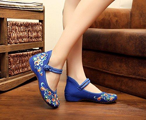 ezShe , Ballet femme Bleu