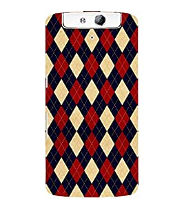 FUSON Sweaters Jerseys Polo Shirts 3D Hard Polycarbonate Designer Back Case Cover for Oppo N1