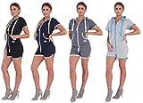 Finchgirl Hotsuit Jumpsuit Overall Onesie Jogger Einteiler Hot Pants