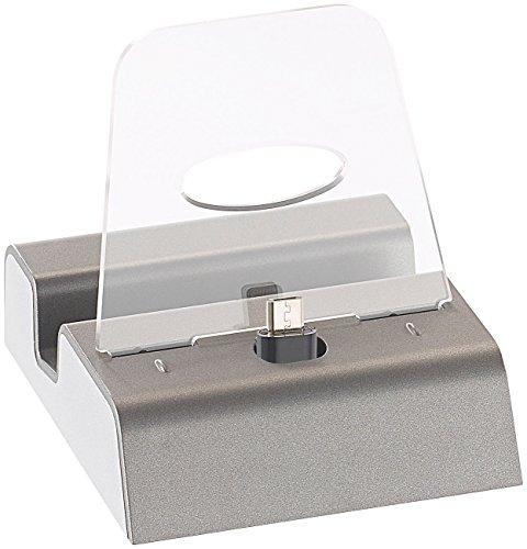 Callstel Handy Dockingstation: Docking-Station für Smartphones & Mobilgeräte mit Micro-USB-Anschluss (Micro USB Dockingstation)