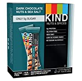 Kind Bar, Dark Chocolate / Nuts & Sea Salt 40 g (Pack of...