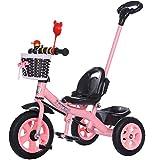 Biciclette per bambini JCOCO Triciclo per Bambini 1-3-6 Anni Trolley Grande Baby Bike