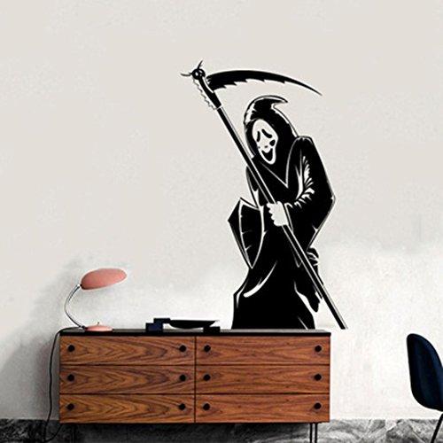 Oyedens Halloween Skelett Hintergrund Verziert - Schwarze Halloween-hintergrund