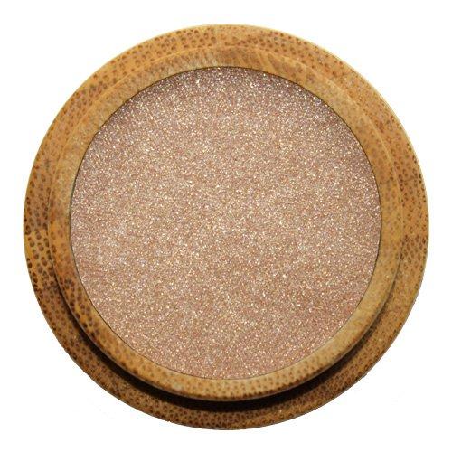ZAO Pearly Eyeshadow 105 sandgold beige Lidschatten schimmernd / Perlglanz in nachfüllbarer Bambus-Dose (bio, Ecocert, Cosmebio,...
