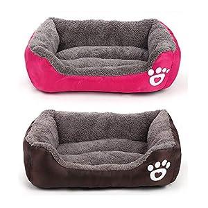 Soft Ped Dog Mat Zwinger Nest Cat Pet Kissen Hundebett Herbst und Winter XL