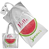 My Custom Style ® beach towel that becomes a bag, model