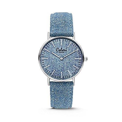 Colori Watch Colori Watch Damenuhr Denim 36mm