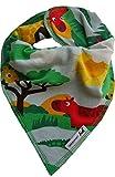 JNY Colourful Kids ♥ Baby Mädchen/Jungen Halstuch ♥ verschiedene Designs zur Auswahl ♥ Neu (Safari in bunt)